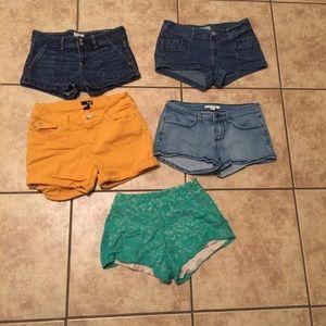 Shorts bundle Size 5